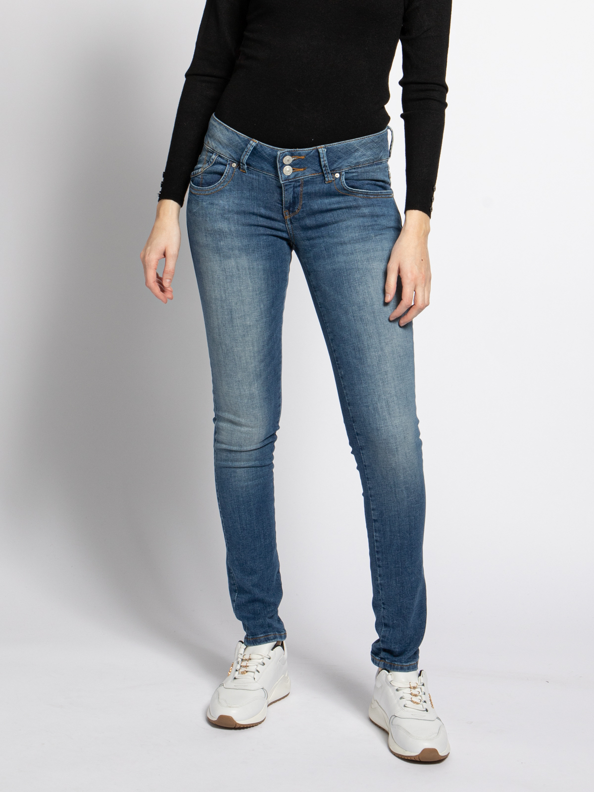 LTB Molly Jeans in blau für Damen, Größe: 25-34. Molly